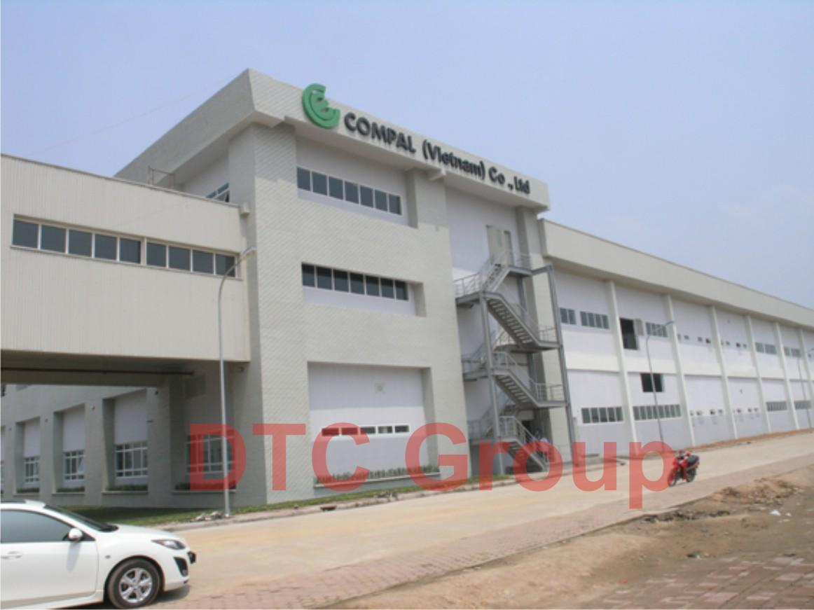 Nhà máy Compal Việt Nam, Khu CN Bình Xuyên, Vĩnh Phúc