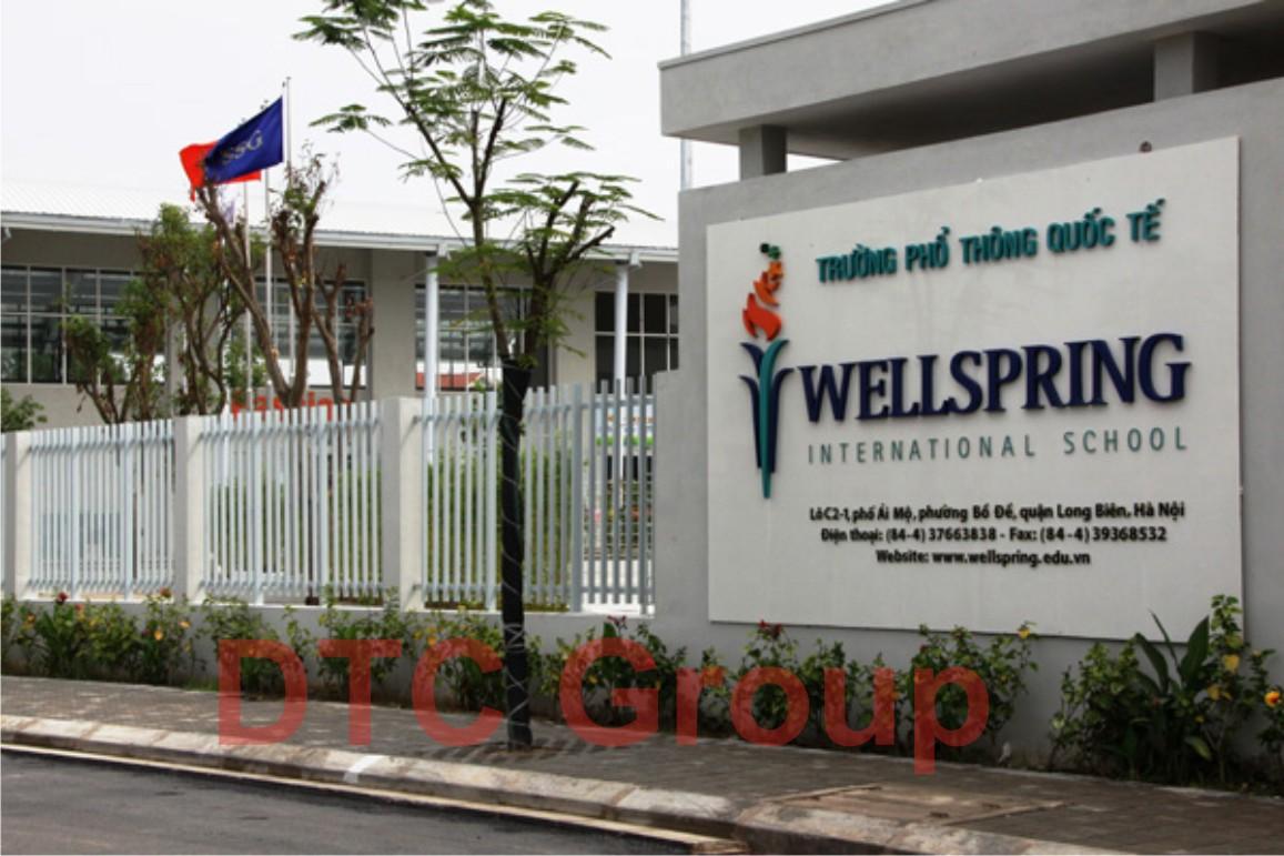 trường quốc tế Wellspring, 95 Ái Mộ, Long Biên, Hà Nội