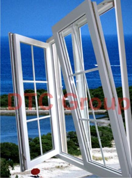 Cửa nhựa lõi thép - cửa sổ mở quay lật